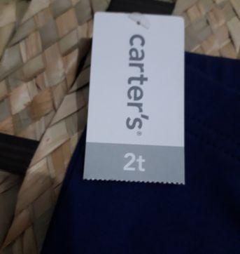 Calça legging carters - 2 anos - Carter`s