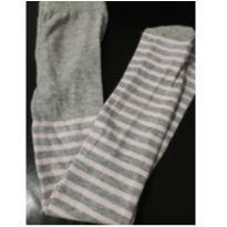 Meia calça listradinha - 2 anos - Não informada