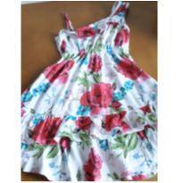 Vestido primavera - 8 anos - Não informada