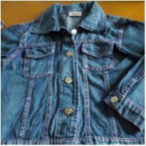 Jaqueta jeans menina - 8 anos - Não informada