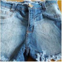 Shorts jeans - 8 anos - Não informada