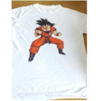 Camiseta Dragon ball z - 10 anos - Não informada