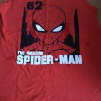 Camiseta homem aranha - 12 anos - MARVEL