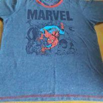 Camiseta homem aranha - 8 anos - Não informada