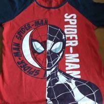 Camiseta homem aranha - 9 anos - MARVEL