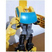 Carrinho robô transformers -  - Não informada