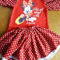 Fantasia Minnie - 4 anos - Disney