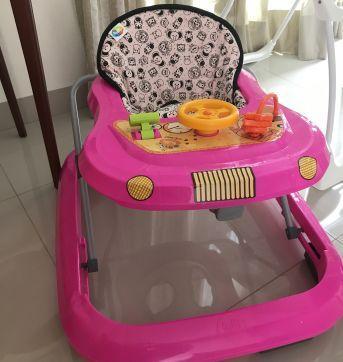 Andador infantil - Sem faixa etaria - TUTTI BABY
