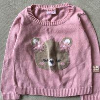 Suéter de Ursinho - 3 a 6 meses - Baby Way