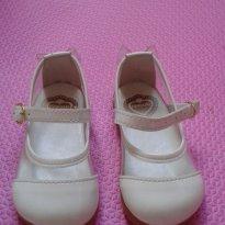 Sapato Branco e transparente Verniz - 18 - Pimpolho