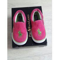 Tênis Polo Ralph Lauren pink - 22 - Ralph Lauren