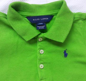Blusa gola polo Ralph Lauren - 18 a 24 meses - Ralph Lauren