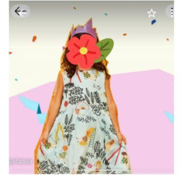 Vestido Fábula Domingo - 4 anos - Fábula