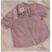 Camisa Zara Baby 3/6 meses - Pouco Usada - 3 a 6 meses - Zara Baby