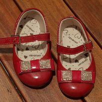 Sapatinho vermelho - 18 - Ortobaby