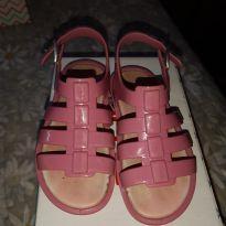 Sandália rosa tiras - 23 - Pimpolho