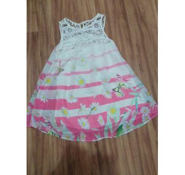 Vestido seda infantil - 4 anos - Ninali