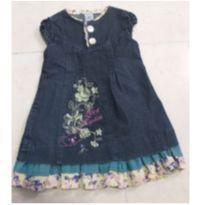 0  kids / roupas / menina vestido jeans lilica ripilica - 4 anos - Lilica Ripilica