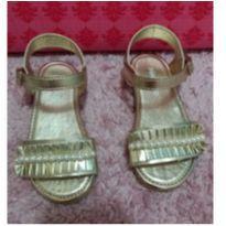 sandália dourada - 22 - Pimpolho