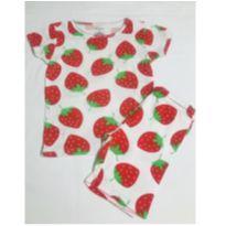 Pijama Carter's de Moranguinho - 6 anos - Carter`s