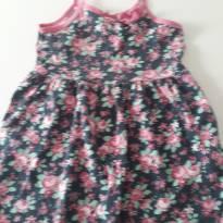 Vestido florzinhas - 3 anos - Tekinha Baby
