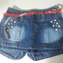 Short saia jeans novo!!! - 3 anos - Sem marca