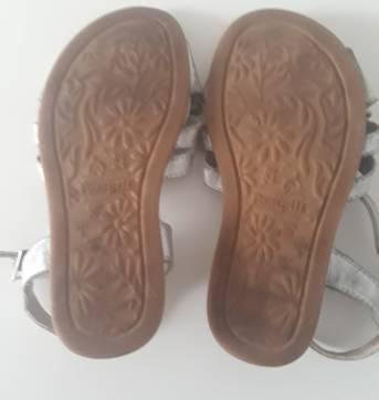 sandália prata - 24 - Pampili