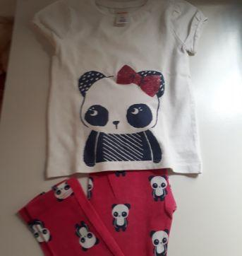 Conjunto Gymboree Panda lindoooo!!! - 3 anos - Gymboree