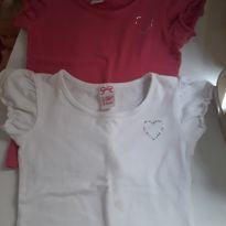 Duplinha de blusas - 24 a 36 meses - Poim, Cherokee e Up Baby