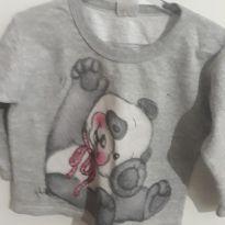 Blusa Panda - 4 anos - Outra