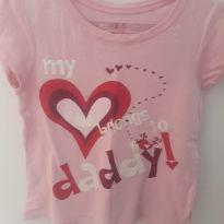 Camiseta My daddy - 3 anos - East 1989