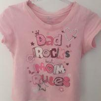 Camiseta Dad Rocks - 3 anos - East 1989