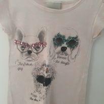 Blusinha Cachorrinhos - 4 anos - playgroud