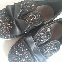 Sapatinho Orelhinhas Glitter - 24 - Molekinha
