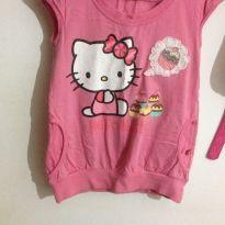 Blusa Hello Kity docinho - 4 anos - Hello  Kitty e Hello Sun