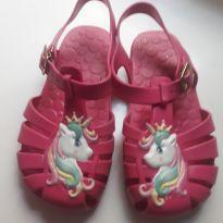 Sandália unicórnio pink - 26 - Pimpolho