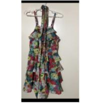 Vestido floral - 4 anos - Animê