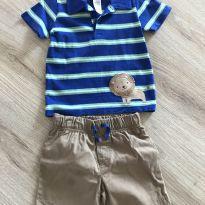 Conjunto Camiseta + Shorts Carter's TAM 18 meses - 18 meses - Carter`s