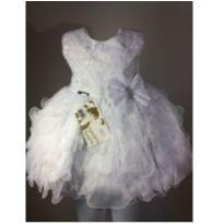Vestido infantil feminino TAM M - 9 a 12 meses - Maria Bonita