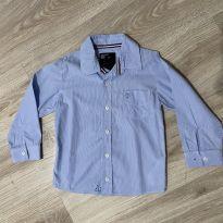 Camisa listrada azul menino Puramania tam 4 - 4 anos - Puramania