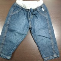 Calça jeans hering - 9 a 12 meses - Hering Baby