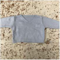 Suéter tricô - 0 a 3 meses - Não informada
