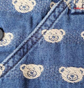 Jardineira Ursos - 9 a 12 meses - 1+1