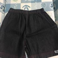 Bermuda jeans (G) - 9 a 12 meses - Outros
