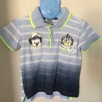 Camisa polo Tigor (2P) - 18 a 24 meses - Tigor Baby