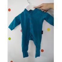 693d74b0f6 ARMÁRIO COLORIDO Body azul - com pezinho - tamanho P Marca  BB Básico   0 a  3 meses   R  45