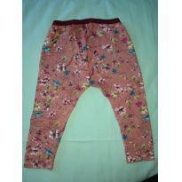 Legging florida em piquê Zara - 18 a 24 meses - Zara Baby