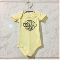 Body 100% frágil - 0 a 3 meses - Odi Baby