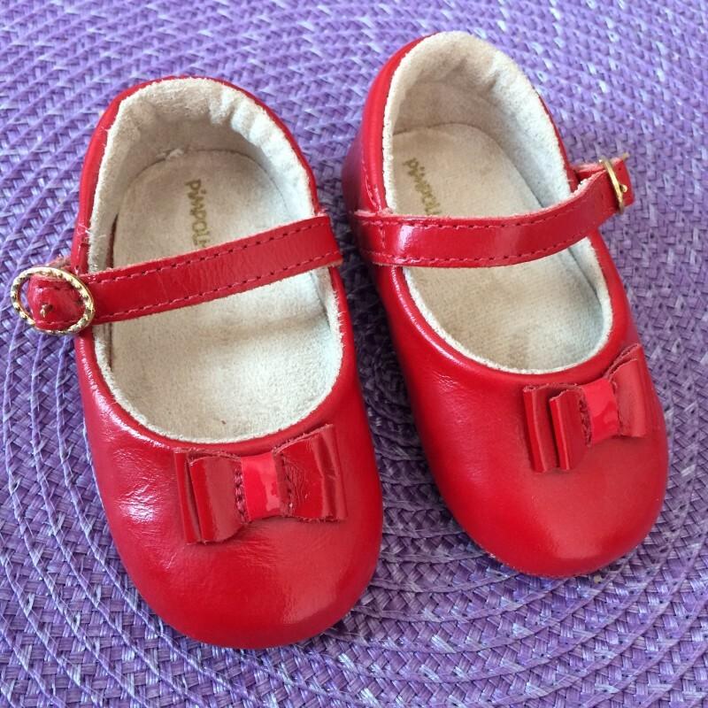 b3ec1f10a Sapato Pimpolho Vermelho Número 4 15 no Ficou Pequeno - Desapegos de ...