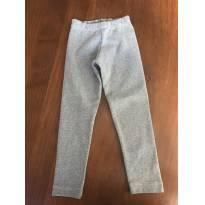 Calça Legging Cinza - 3 anos - Não informada